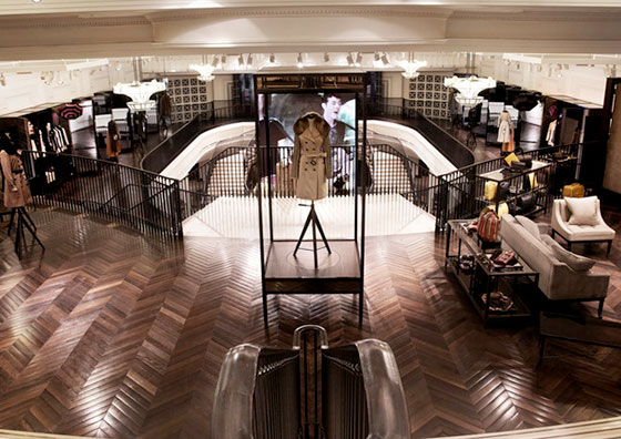 Burberry see its pretax profits down 62% for first half