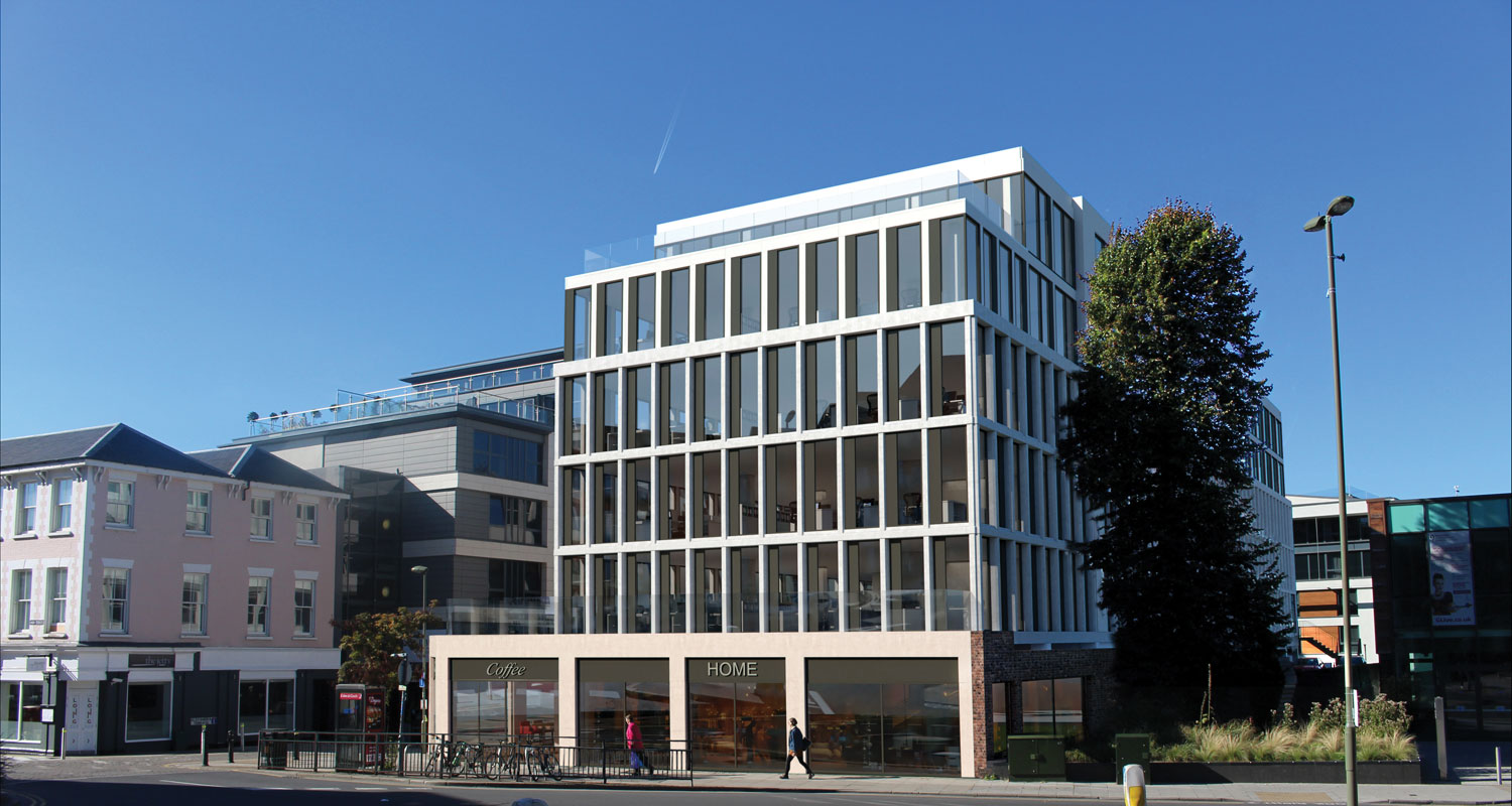 Connaught House, Guildford GU10- Office and Retail Spaces to Let