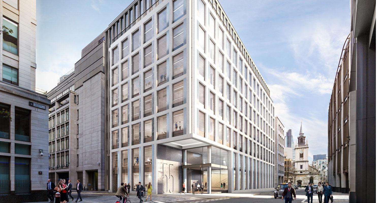 55 Gresham Street, London EC2- Office & Retail Spaces to Let
