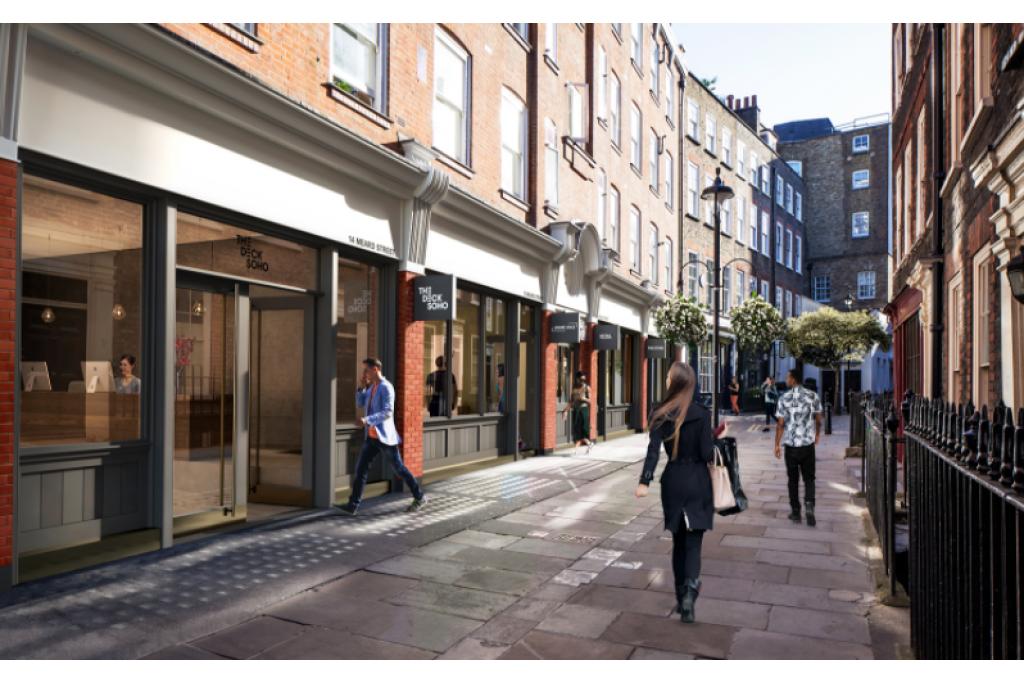 Meard Street, Soho, W1: Mixed Use